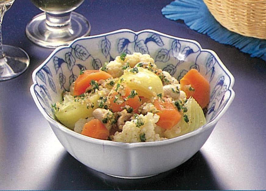 米酢を使った野菜のギリシャ風マリネ