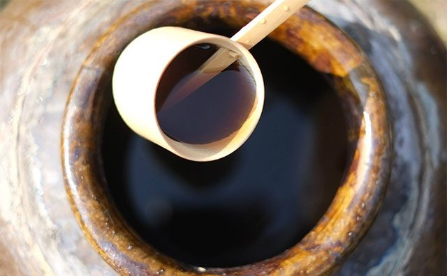 福山酢の黒酢のこだわり