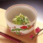 米酢できゃべつときゅうりのごま酢和え