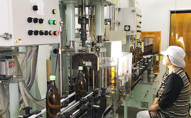酢の製造ライン