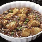 ヘルシーなおかず、豆腐の甘酢煮