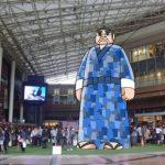 「みんなで巨大西郷どんを創ろう! inアミュ広場」に福山酢の新商品が陳列されます