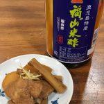 福山米酢赤印を使った豚肉と根菜のさっぱり煮