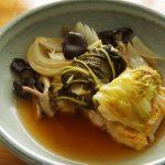 ロール白菜のケチャップ甘酢煮込み